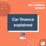whats the different types of car finance