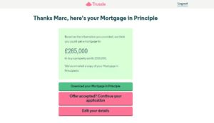 Trussle review - mortgage in principle