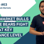 Stock market bulls and the bears fight it out at key resistance level
